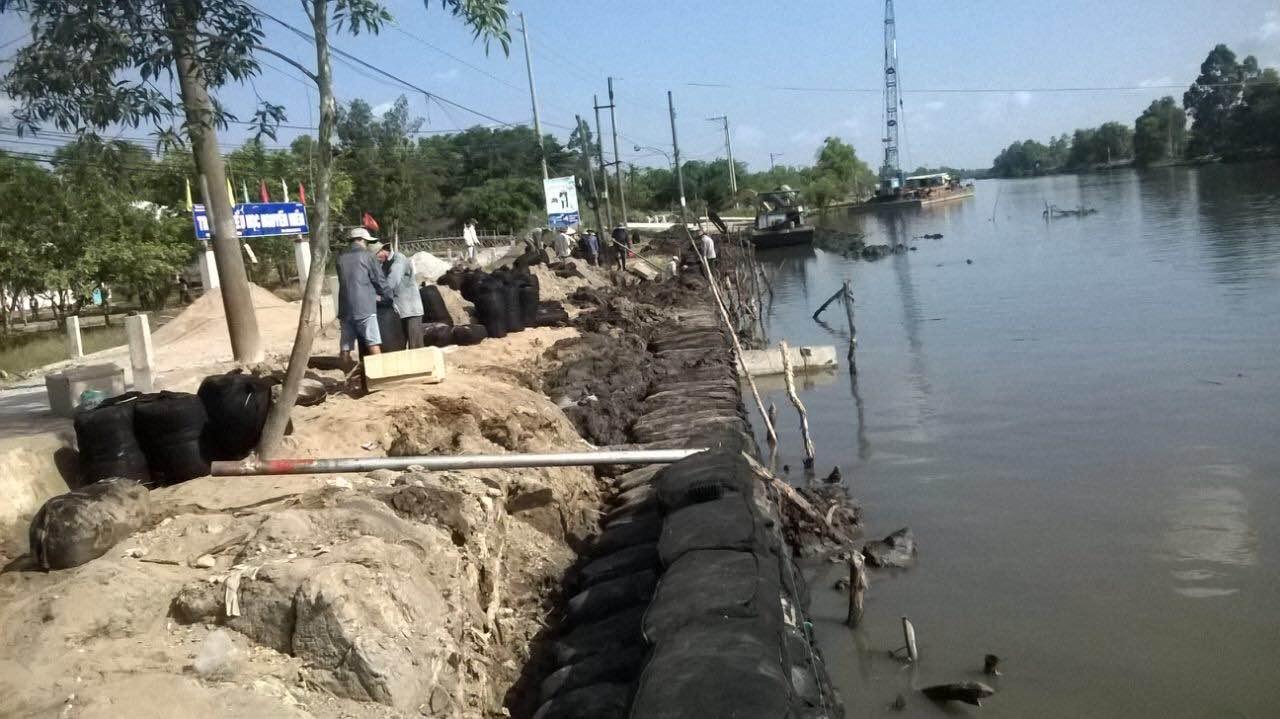 Dự án kè sông Cái Tàu